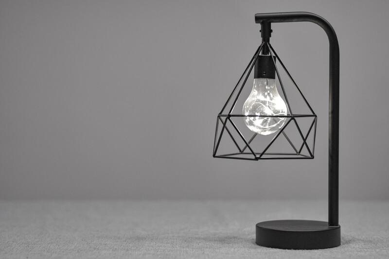 De-lampenvoet