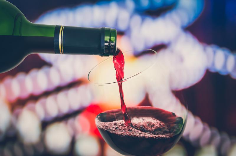 Tie-Dye-met-rode-wijn