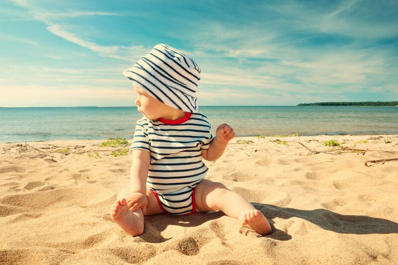 baby-in-de-zomer