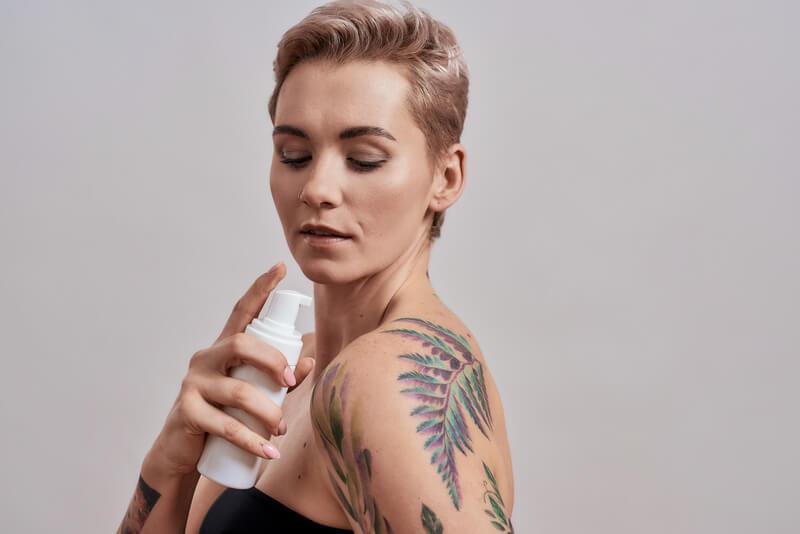 hoe je tattoo verzorgen