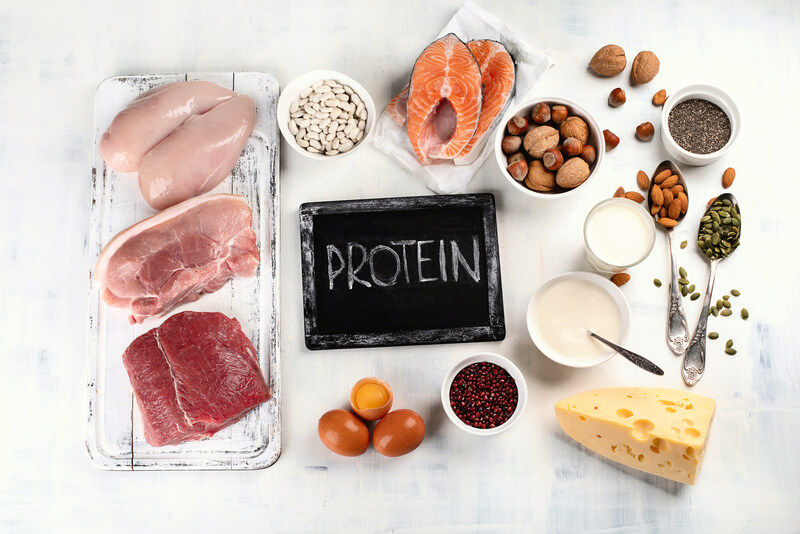 manieren om meer eiwitten binnen te krijgen